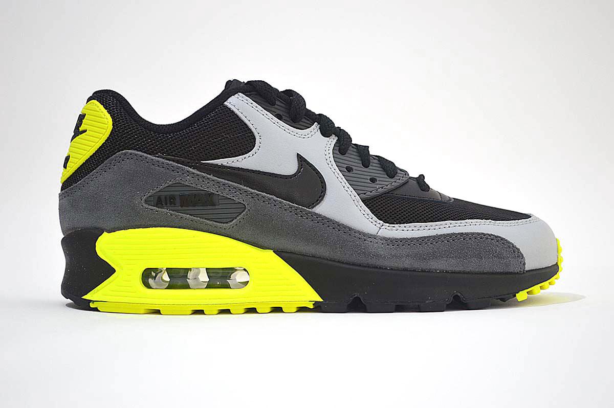 Nike Air Max 90 Mesh Trainers GS , 724824-002