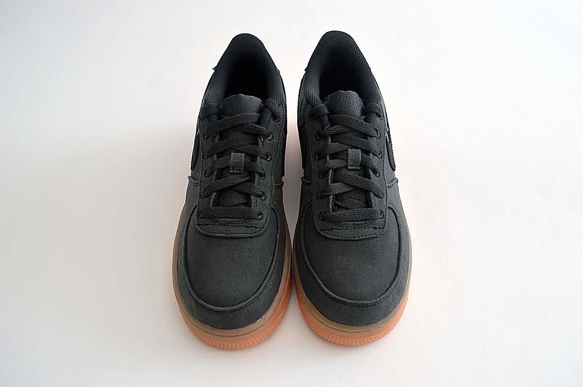 UK Cheap Womens Nike Air Force 1 LV8 Style (GS) Black Black