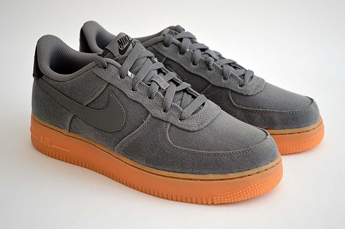 billig Nike Air Force 1 Gelb Blau AO2439 700 Kostenloser