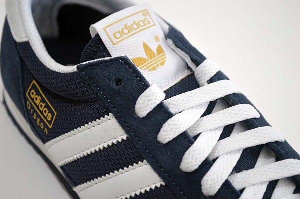 "Adidas Dragon Mens Trainers <span class=""prodcode""><br>G50919 Dark Blue</span>"