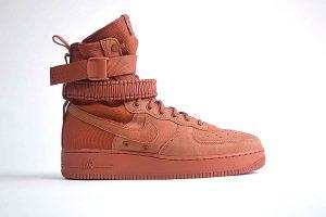 "Nike SF Air Force 1 Boot <span class=""prodcode""><br>Dusty Peach 864024-204</span>"