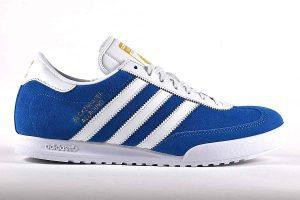 "Adidas Beckenbauer Mens Trainers <span class=""prodcode"">B34800<br></span>"