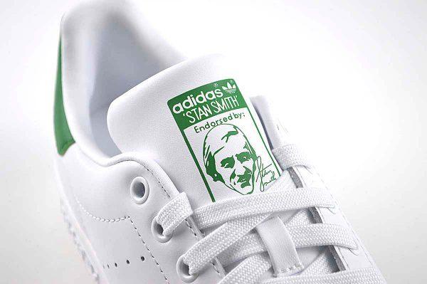 "Adidas Stan Smith White Trainers <span class=""prodcode""><br>M20324</span>"