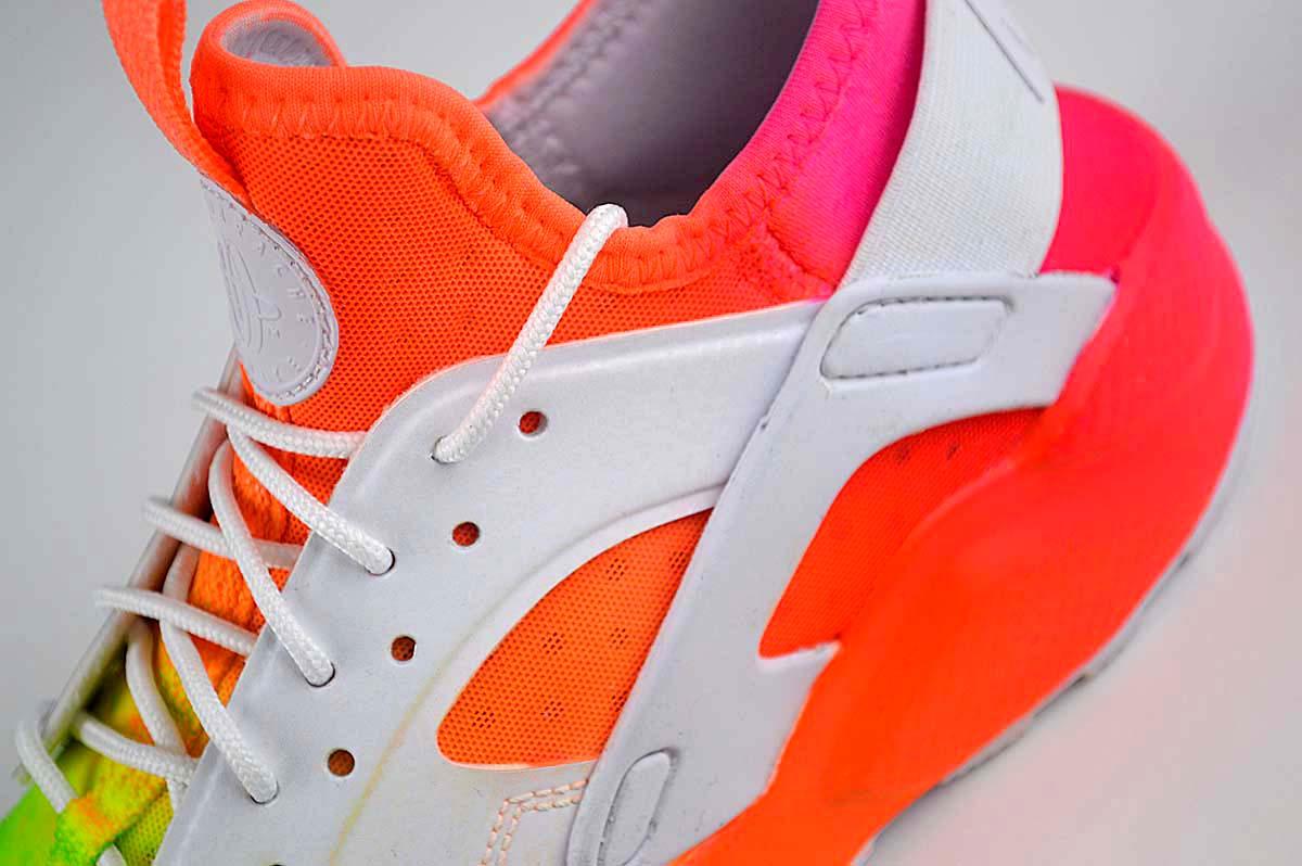 Nike Air Huarache Run Ultra Trainers Rainbow , GS 847569-100