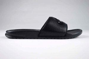 "Nike Benassi JDI Slide Black <span class=""prodcode""><br>343880-001</span>"