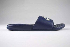 "Nike Benassi JDI Slide Navy <span class=""prodcode""><br>343880-403</span>"